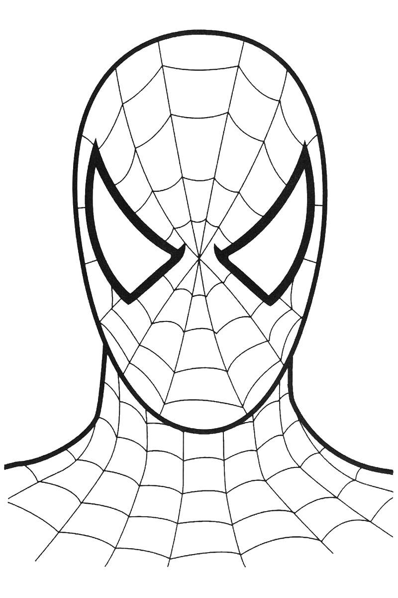 Человек паук Раскрашивать раскраски для мальчиков
