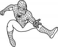 Человек паук, раскраски Раскрашивать раскраски для мальчиков