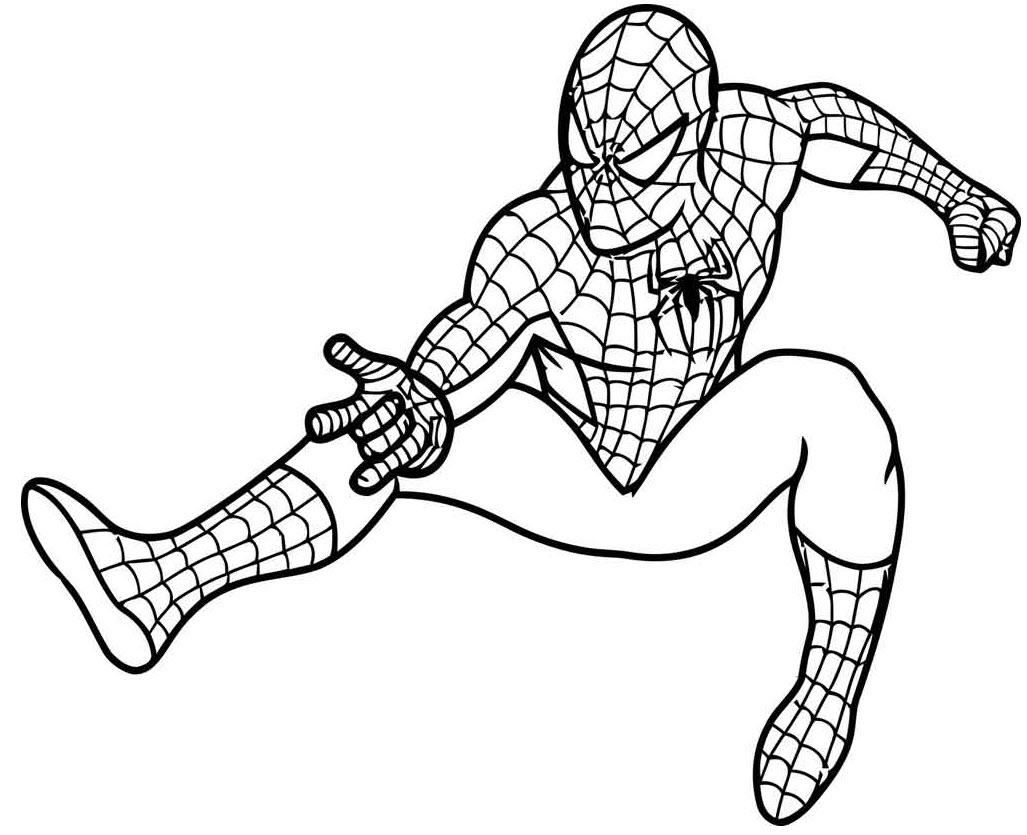 Молодой флэш флэш супергерой Раскраски для детей мальчиков