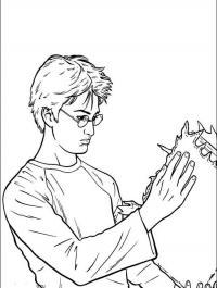 Гарри потер Раскраски для детей мальчиков