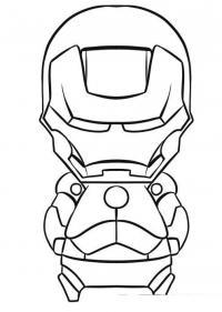 Железный человек игрушка Раскраски для мальчиков