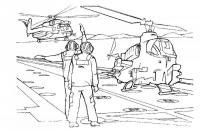 Вертолеты и пилоты Раскраски для мальчиков