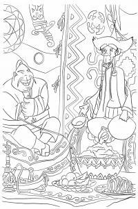 Три богатыря Скачать раскраски для мальчиков
