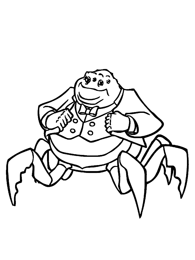 Морские чудовища Скачать раскраски для мальчиков