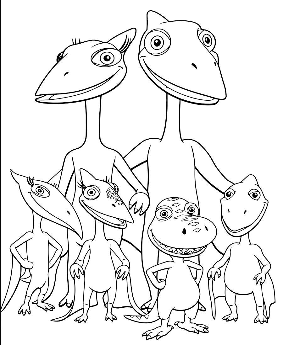 Динозавры с крыльями Раскраски для мальчиков бесплатно