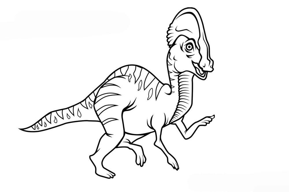 Динозавр хищник Раскраски для мальчиков