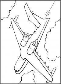 Пассажирский авиалайнер Раскрашивать раскраски для мальчиков
