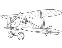 Самолет кукурузник Раскраски для детей мальчиков
