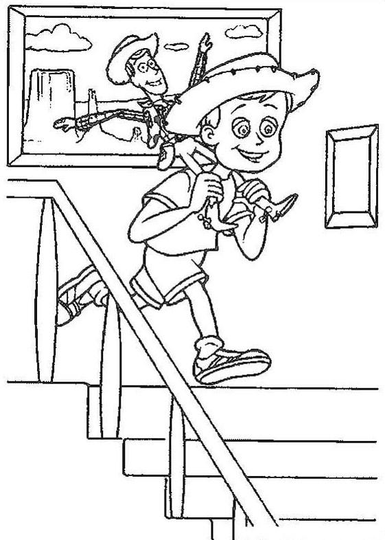 История игрушек Скачать раскраски для мальчиков