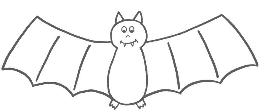 Летучие мыши Раскраски для мальчиков