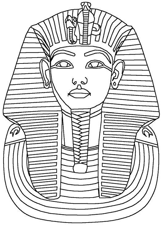Фараон Распечатать раскраски для мальчиков