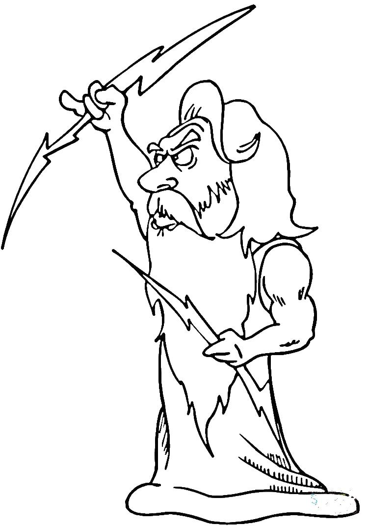 Греция, мифы, боги Раскраски для мальчиков