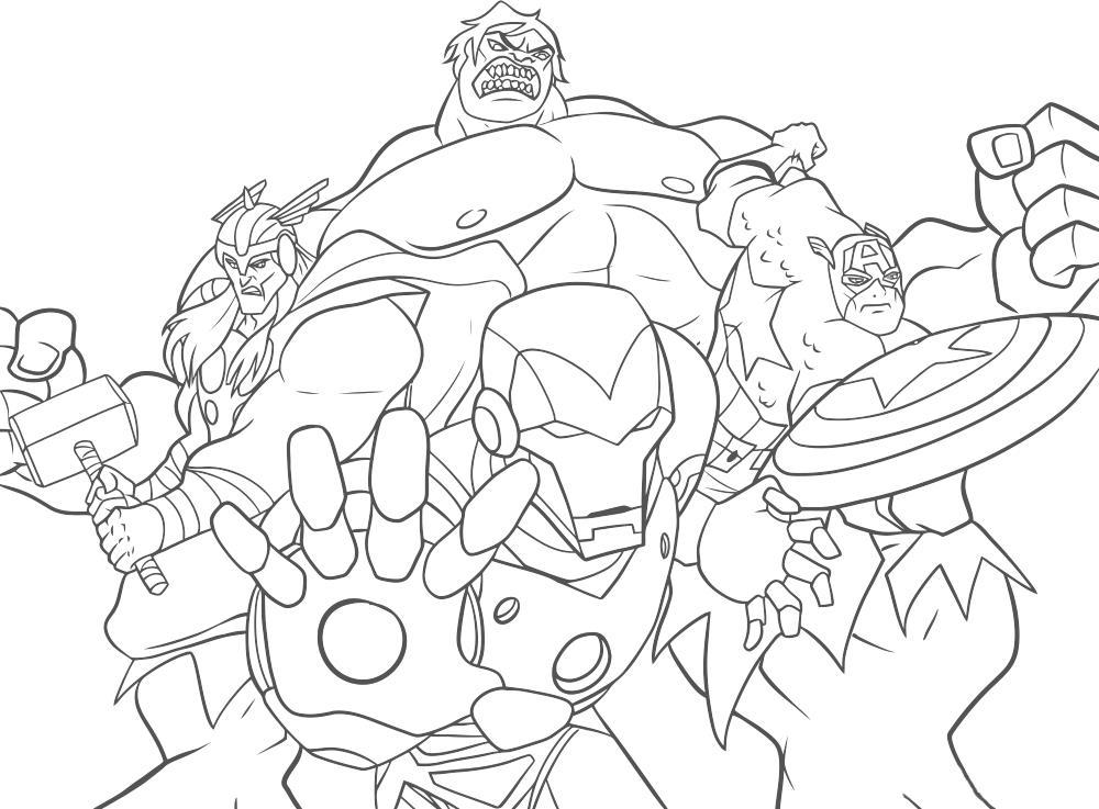 Супергерои мстители мстители халк железный человек капитан ...
